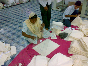 Lopees envelope production - Fair Trade India